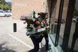 Emoción y tristeza en el velatorio de Luis Salom