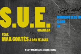S.U.E. acompañadoS de Mar Cortés & Dan Zelisko, en Novo Café Lisboa