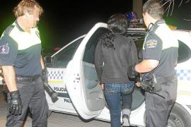 Cuatro alemanes retienen a una prostituta en s'Arenal durante una noche de juerga