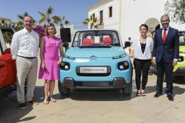 Formentera ha sido el escenario elegido para la presentación del nuevo E-Mehari