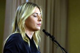 Dos años de sanción para Sharapova por dopaje