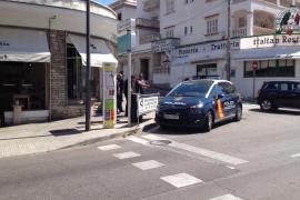Detenido por amenazar a los clientes en una cafetería de Sant Agustí, en Palma