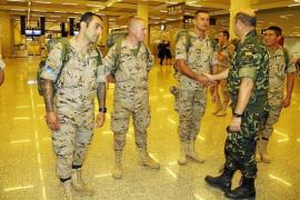 Parten hacia   Afganistán  los instructores de Balears