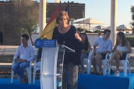 Cospedal asegura que el PP volverá a gobernar en Balears