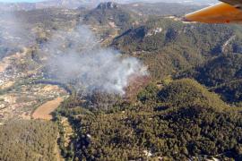 Controlado el incendio en Puigpunyent, que ha afectado a unas 3,2 hectáreas