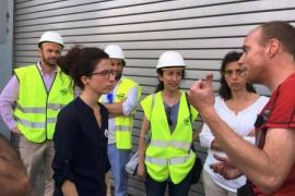 Un incendio en la planta de compostaje de Tirme obliga a desalojar al personal