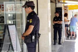Detectados 5 trabajadores sin contrato y máquinas sin medidas de protección en locales de Palma