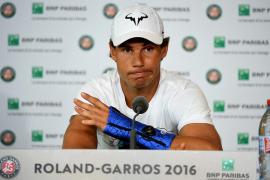 La lesión de muñeca aparta a Rafa Nadal de Wimbledon
