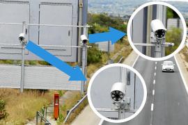 Aluvión de multas por cámaras infalibles que leen todas las matrículas en Mallorca