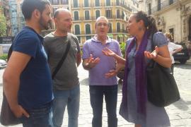 Units Podem MÉS participan en la 'Ruta corrupta' por Palma