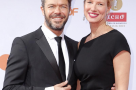 Anne Igartiburu y Pablo Heras-Casado, padres de un niño