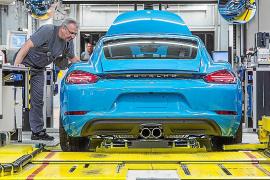 Éxito en el inicio de producción del nuevo Porsche 718 Cayman