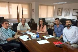 El IB-Salut y Emaya inician un plan para optimizar el consumo de agua