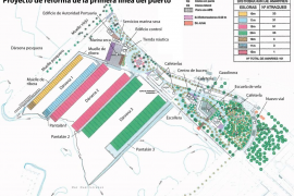 Ocho nuevos edificios y una marina seca ocuparán la primera línea del Port d'Alcúdia