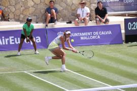 Muguruza pierde en Santa Ponça su primer partido tras ganar Roland Garros