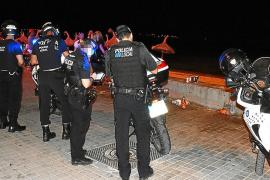 Más de 150.000 euros en multas por botellón en s'Arenal