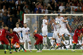 Portugal no puede con Islandia