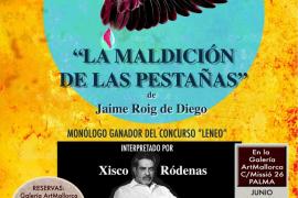 Jaime Roig de Diego debuta en el teatro con 'La maldición de las pestañas'