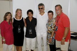 Elton John y Andrea Bocelli