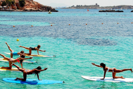 Cinco ejercicios saludables para el verano