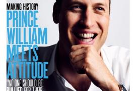 El duque de Cambridge, portada de la revista gay Attitude