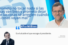 Sátira a costa de Rajoy