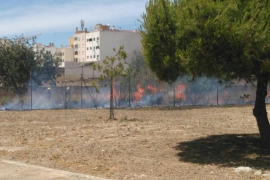 Fuego en el torrent Gros