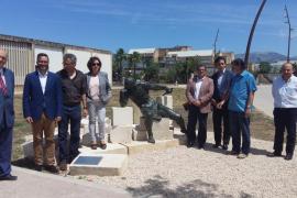Cort cede a la UIB una escultura dedicada a Guillem Sagrera