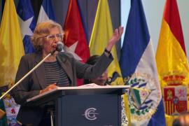 Carmena, hospitalizada por una gastroenteritis tras volver de Bolivia