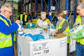 El Banco de Alimentos reparte 2,5 millones de kilos