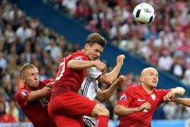 Alemania no puede con Polonia