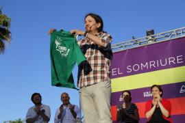 Mitin de Podemos en Palma