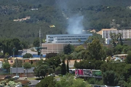 Extinguido un incendio en Son Rapinya