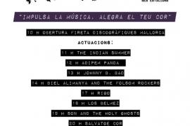 Palma se suma a la Festa de la Música con una jornada de actuaciones