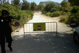 Una cadena impedirá el paso de vehículos en el Caló de Artà
