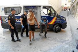Los narcos dominicanos declaran ante la juez entre grandes medidas de seguridad