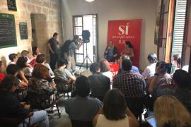 Zaida Cantera afirma en Palma que el cambio no es posible «sin tener en cuenta a las mujeres»