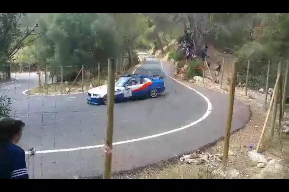 Los heridos en el rally de Calvià habían sido advertidos de que no se colocaran en esa curva