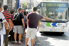 La EMT gana 655.882 pasajeros en los cinco primeros meses del año