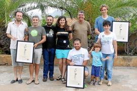 El GOB limpia el litoral de sa Canova de Artà y entrega los Premis Alzina al compromiso