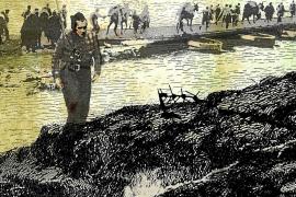 Pere Ginard ilustra un libro de Hemingway usando imágenes de la Guerra Civil