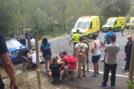 Continúan en la UCI dos de los cuatro heridos en el Rallysprint Afició de Calvià