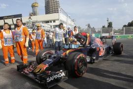 Sainz lamenta que en Baku «no ha salido nada de lo que tenía que salir»