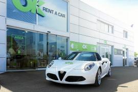 OK Rent A Car incorpora en su flota el Alfa Romeo 4C Spider