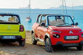 El Citroën E- Mehari, embajador de Formentera