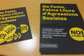 Cort lanza la campaña «¡No y punto!» para evitar agresiones sexistas