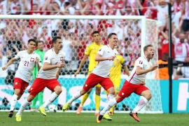 Polonia no necesita los goles de Lewandowski para pasar a octavos