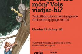 Papiroflexia, colores y mucha imaginación en el taller infantil de Rata Corner