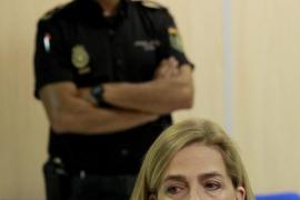 Los acusados en el juicio por el caso Nóos