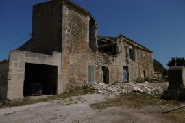 ARCA denuncia el derribo de la fachada de la posesión de Son Mas en Porreres